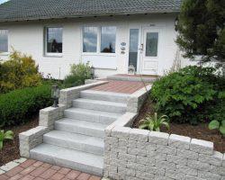 Treppen Steinbach Gartengestaltung in bezug auf Blockstufen Granit - Solarishost